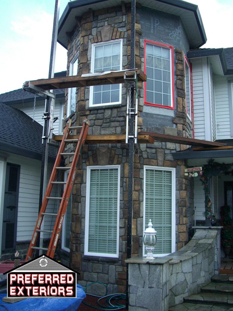 best stone siding contractors Vancouver WA