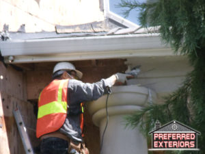 Affordable EIFS Dryvit siding contractors Ridgefield with logo