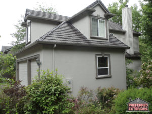 Eifs Dryvit replacement siding contractors Camas with logo