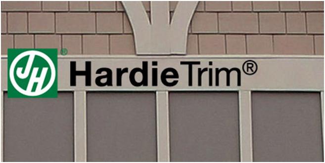 HardiePlank Trim