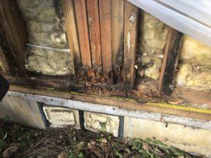 Dry rot repair siding contractors Washougal Camas Clark County
