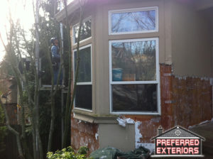 Washougal Camas EIFS synthetic stucco replacement siding contractors-with logo